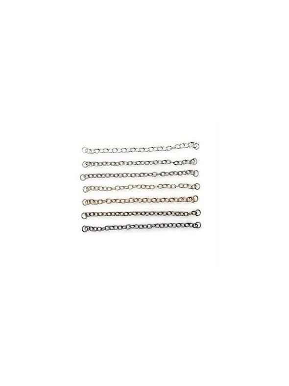 "Connector Chain 12"" - Antique Silver"