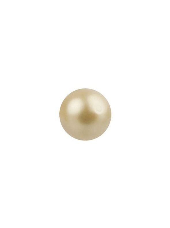 Vintage Gold Pearl Charm - 3 Pack