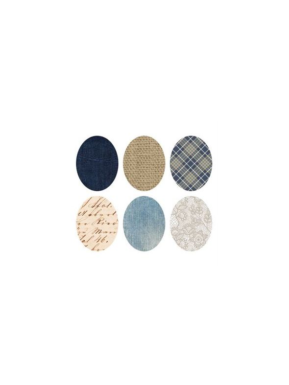 Fabric Oval Locket Backdrops