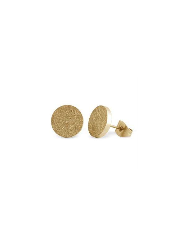 Gold Diamond Dust Studs