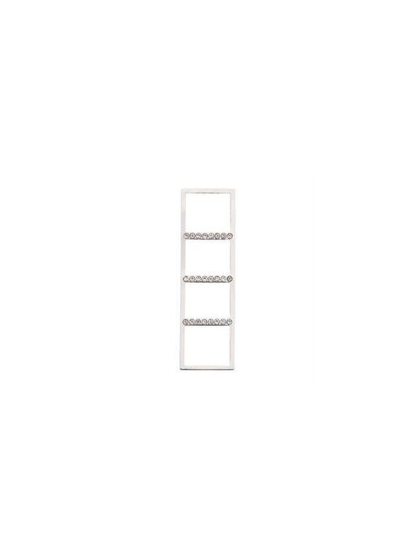 Silver Straight Bar Screen