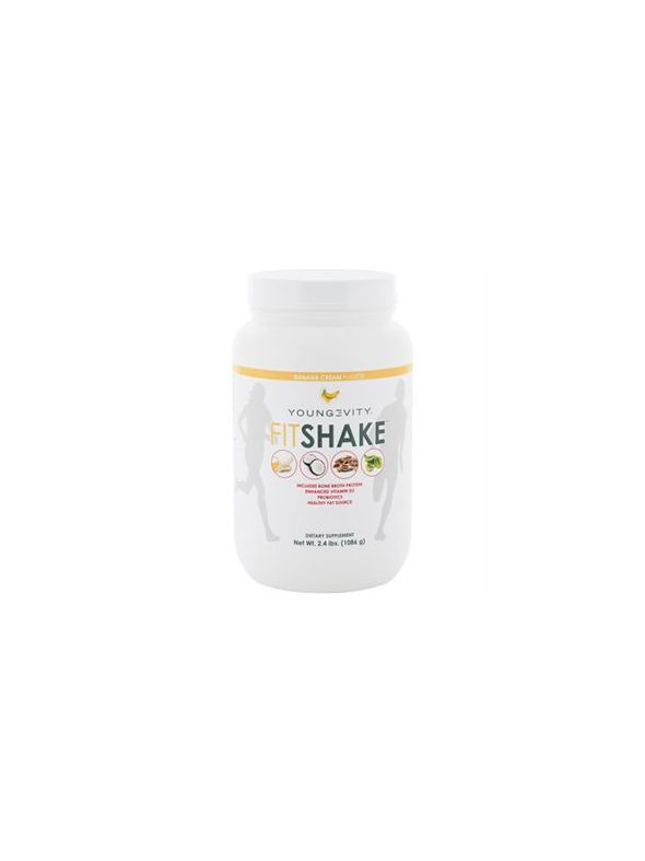 Youngevity FitShake™ Banana Cream 2.4 Lbs.