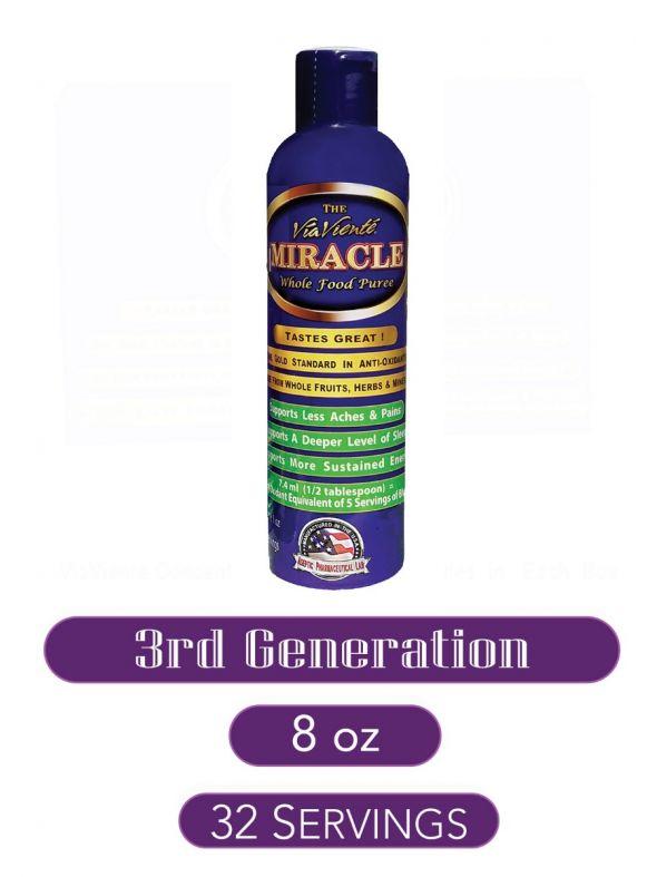 ViaViente Miracle   8oz   Bottle Single