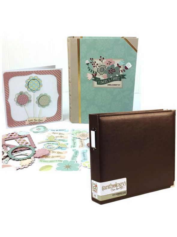Flowers and Frames Album Bundle