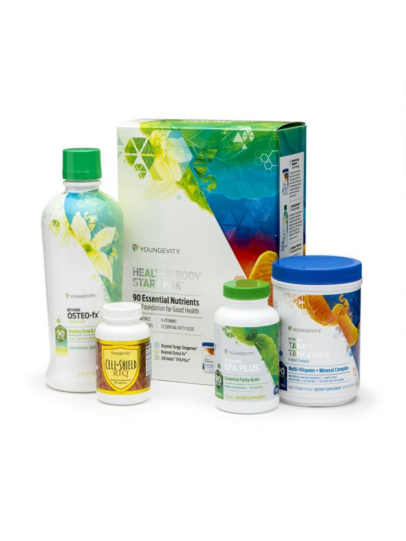 Anti-Aging Healthy Body Start Pak™ - Original