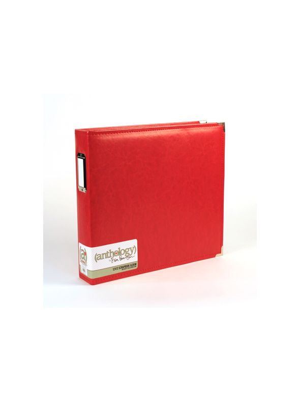 *50% OFF* Anthology 12 x 12 Album - Red *SALE* WHILE SUPPLIES LAST
