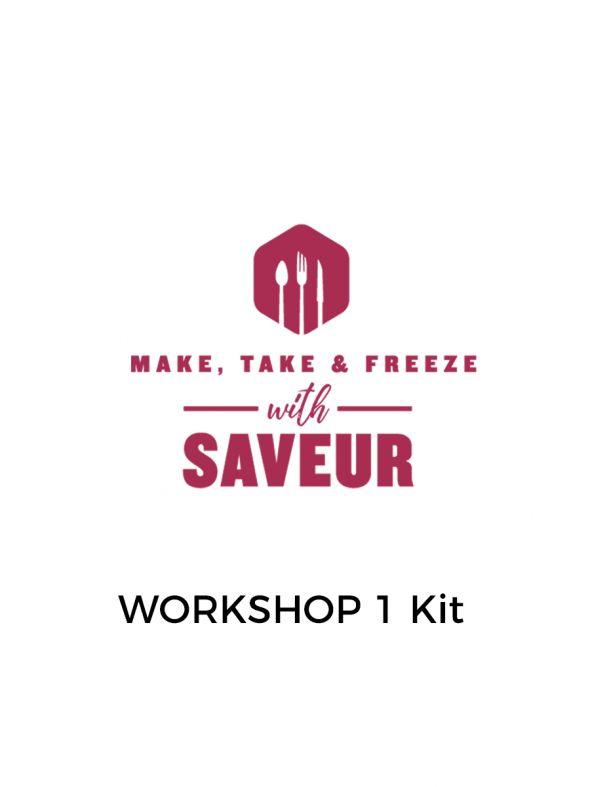 Make, Take and Freeze Workshop Kit 1