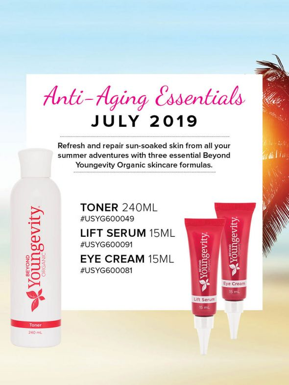 Mineral Makeup of the Month Club - July 2019